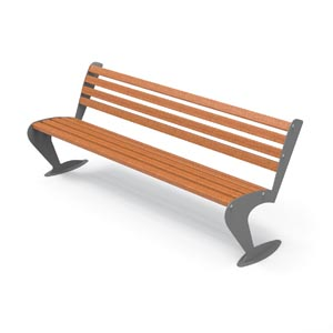 Albatross Bench by City Design / Wood Seat by City Design