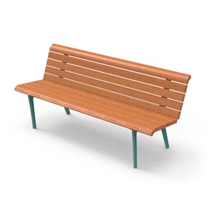 Monet Bench by City Design